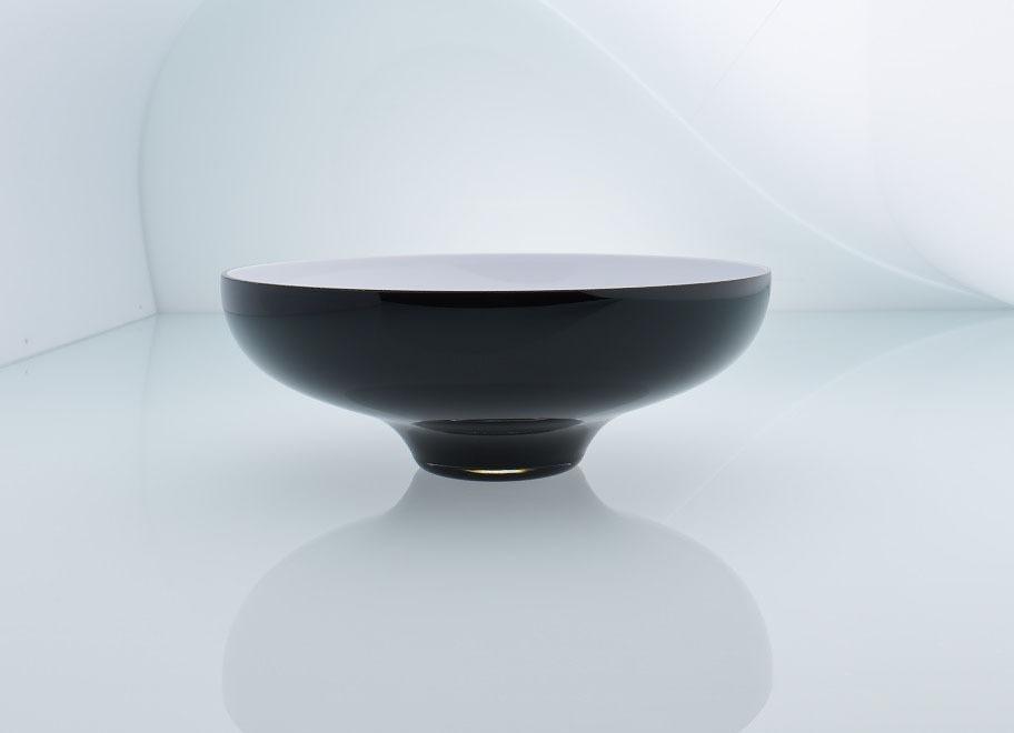 Glas Gunstig Kaufen ~ Black white sammlung schüssel aus glas online guenstig kaufen