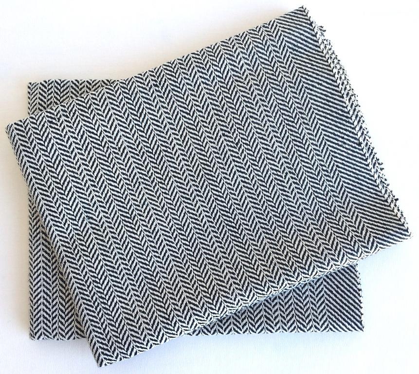 geschirrtuch set aus leinen 50x 75 cm wei online. Black Bedroom Furniture Sets. Home Design Ideas