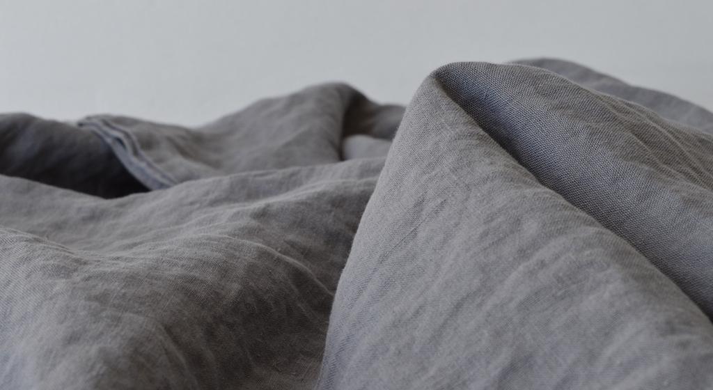 leinen bettlaken grau 180x 260 cm 230x 260 cm 275x 275 cm. Black Bedroom Furniture Sets. Home Design Ideas