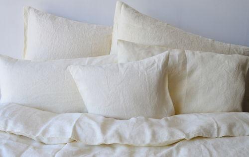 Leinen Bettwäsche Stone Washed Und Vorgewaschene Bettwäsche